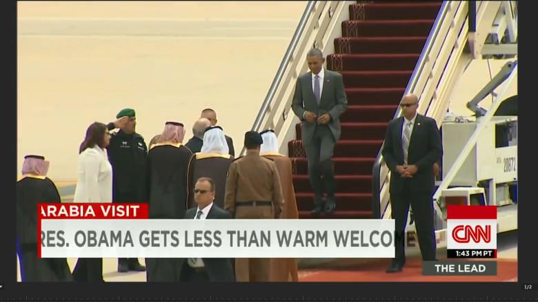 بالفيديو: كيف كان لقاء الرئيس أوباما بالملك سلمان وأين تظهر التوترات؟