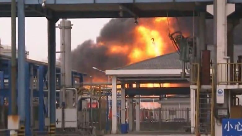 انفجار ضخم في مخزن مواد كيميائية في الصين.. والسلطات تحقق