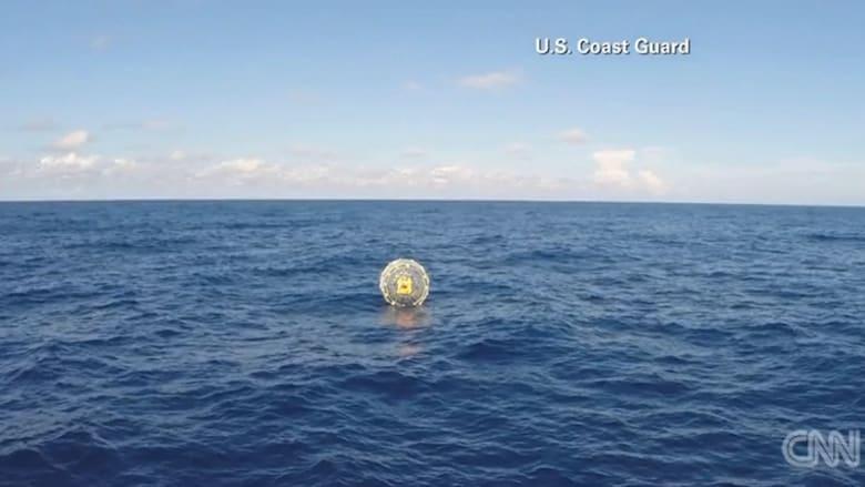 شاهد.. خفر السواحل الأمريكية تنقذ رجلاً كان يحاول السير على مياه المحيط من فلوريدا إلى برمودا