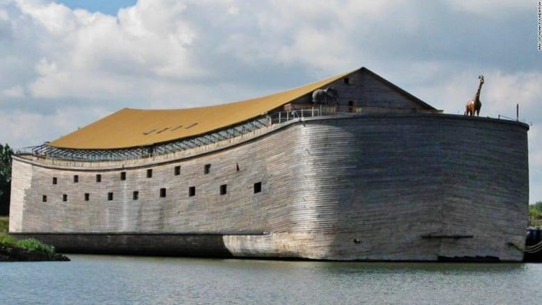 """نسخة عن """"سفينة نوح"""" لجذب السياحة الدينية في البحار"""