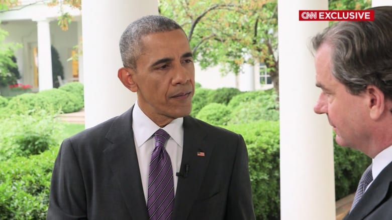 أوباما لـCNN: جميعنا تفاجأ بالاتجاه الذي سلكه الربيع العربي ولم يتوقع أحد خروج مبارك من السلطة بصورة جازمة