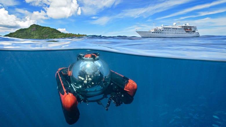 عش تجربة الرحلة البحرية الفاخرة من ارتفاع 30 ألف قدم!