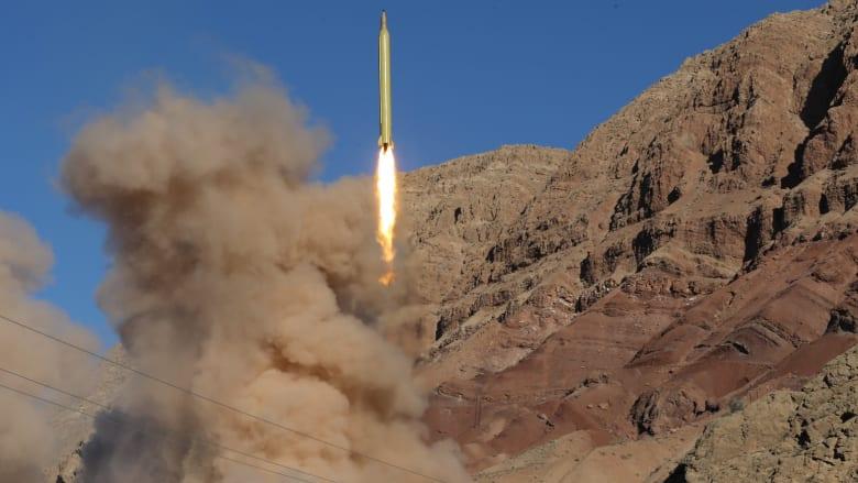 """وسط التنديد الدولي.. إيران تتحدى وتطلق صاروخا باليستيا آخر """"يمكنه ضرب هدفه دون أي خطأ"""""""
