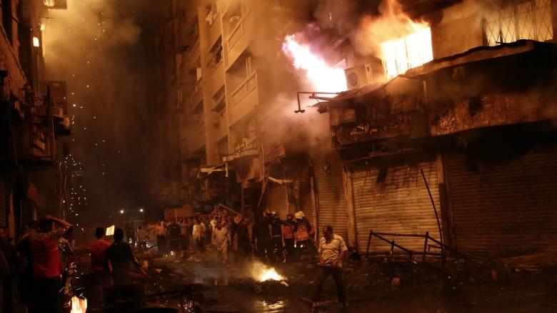 بالصور: حرائق القاهرة تزيد معاناة المواطنين.. خسائر بالملايين والفاعل مجهول