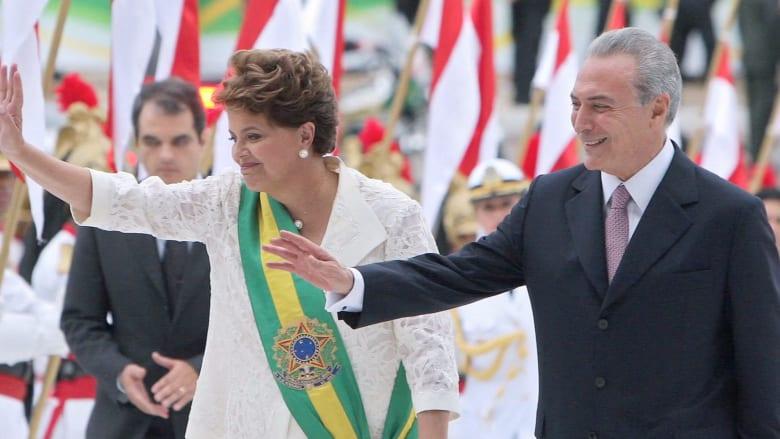 رئيسة البرازيل عن قرار البرلمان بوقفها عن العمل: انقلاب.. واللبناني الأصل ميشال تامر رئيسا مؤقتا