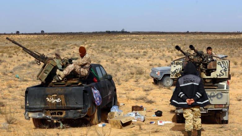 كيري والسراج يطالبان بتسليح حكومة الوفاق الليبية لمواجهة داعش