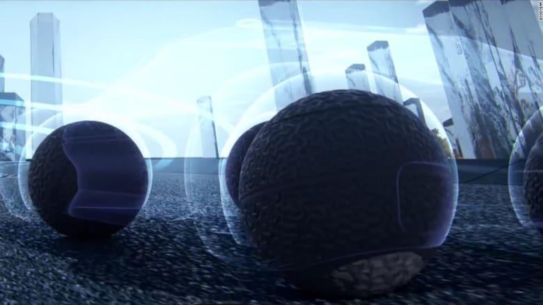 بالفيديو.. عجلات المستقبل ستكون كروية الشكل