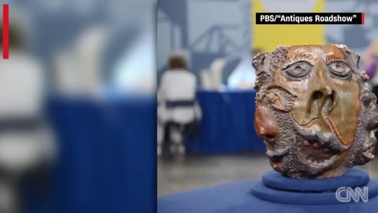 بالفيديو: رجل يشتري منحوتة بـ300 دولار.. ومفاجأة لم يتوقعها!