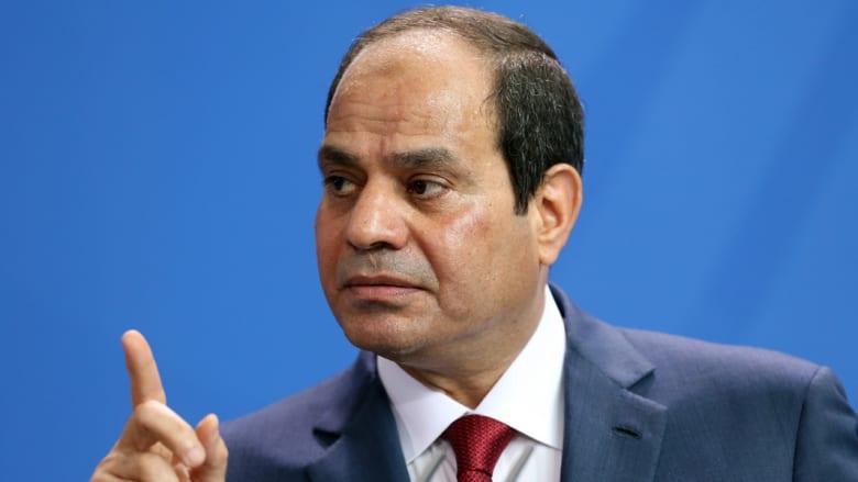السيسي يوجه باتخاذ كافة التدابير للتوصل وانتشال الطائرة المصرية MS804