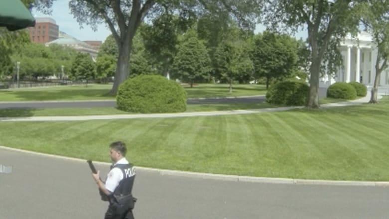 بالفيديو: حرس البيت الأبيض يصيب مشتبها به ويعتقله بعد التهديد بمسدس