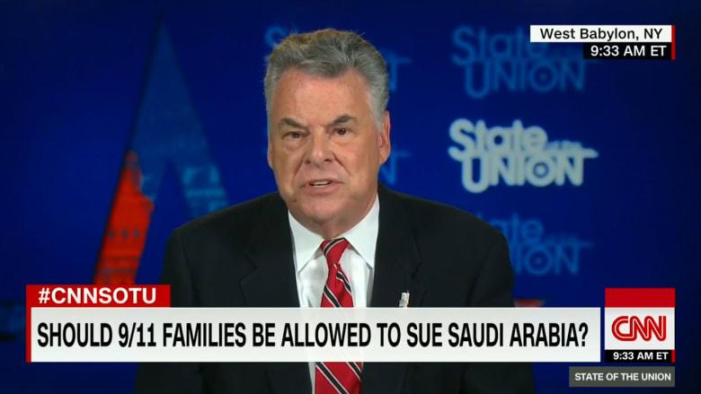 عضو مجلس النواب الأمريكي لـCNN: إن لم تكن للسعودية صلة بهجمات 11 سبتمبر فلا قلق عليها!