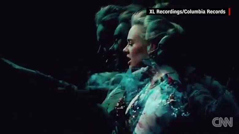 """بالفيديو: أديل تطلق فيديو جديد لأغنيتها """"Send My Love"""""""