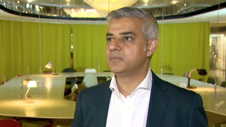 عمدة لندن لـ CNN: ترامب لعبة في يد المتطرفين ووجهة نظره عن الإسلام جاهلة