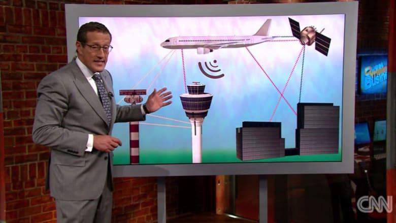 ريتشارد كويست يوضح لـCNN تكنولوجيا التواصل مع الطائرات: السؤال يبقى لماذا لم يُحدد موقع الطائرة المصرية؟