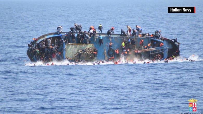 بالفيديو: في أسبوع واحد.. البحر المتوسط مقبرة مفتوحة لمئات اللاجئين الفقراء