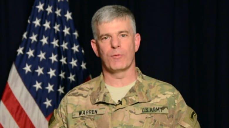 """ناطق عسكري أمريكي: قبل عام كان """"همجيو"""" داعش عند أسوار بغداد واليوم يتلقون الضربات بسوريا والعراق"""