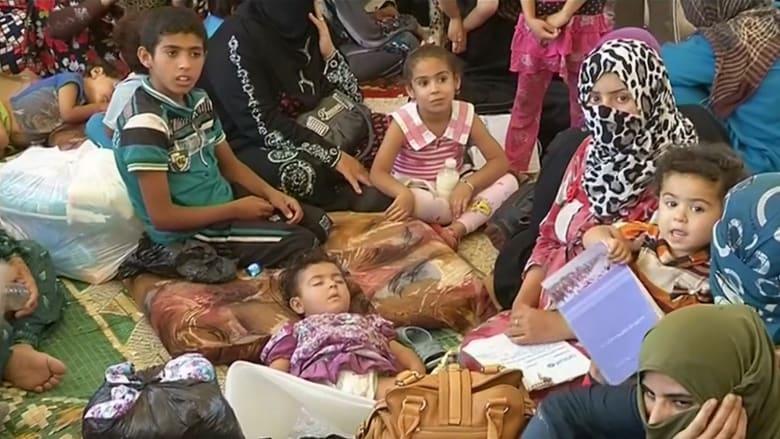 """المدنيون عالقون وسط القتال في الفلوجة و""""داعش"""" يستخدمهم دروعا بشرية"""