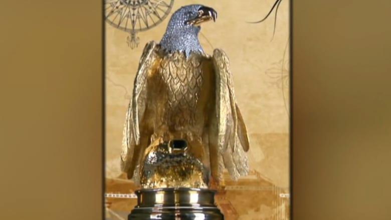 سرقة تمثال يبلغ سعره 5 ملايين دولار من الذهب الخالص والماس والزمرد