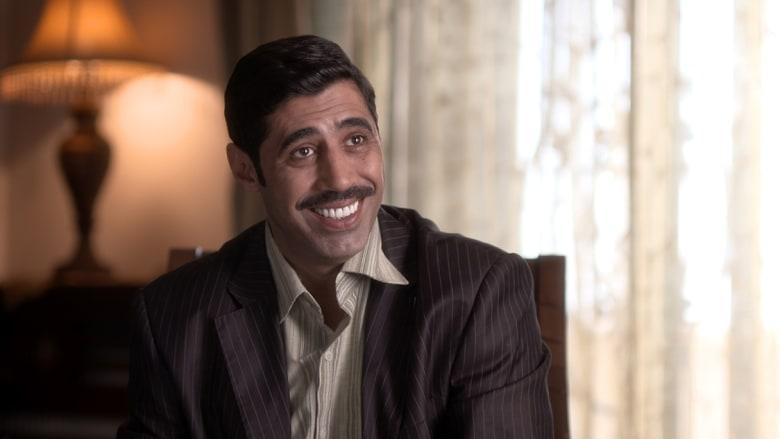 الممثل محمد حداقي يؤدي دور أبو سعيد، وهو شخص جشع لا يهمه سوى جمع الثروة.