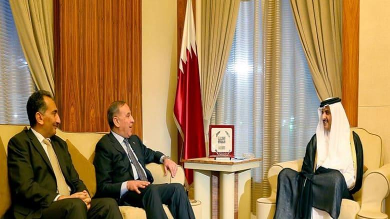 أمير قطر يطالب السلطات العراقية ببذل المزيد من الجهد للإفراج عن المختطفين القطريين بالعراق