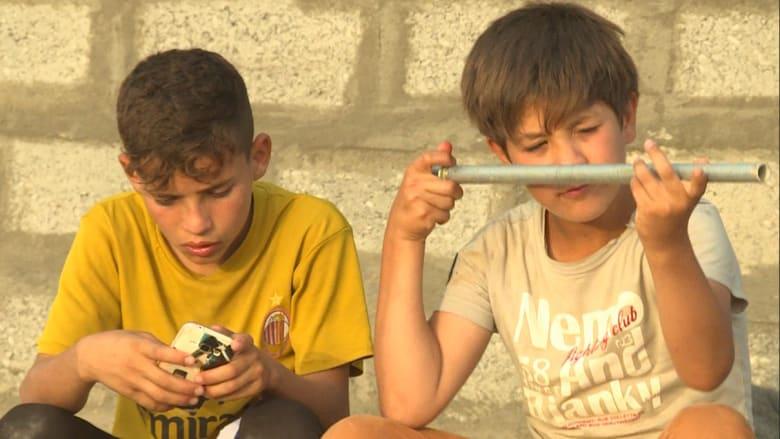 بالفيديو: عدسة CNN تقابل الناجين من الفلوجة.. أطفال يعانون وعائلات حولها داعش لدروع