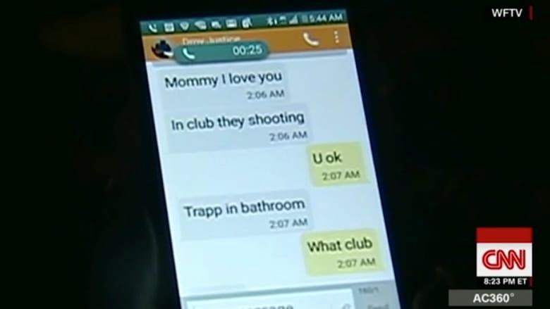 بالفيديو: هجوم أورلاندو من خلال وسائل التواصل الاجتماعي.. رسائل الضحايا لعائلاتهم قبل لقاء حتفهم