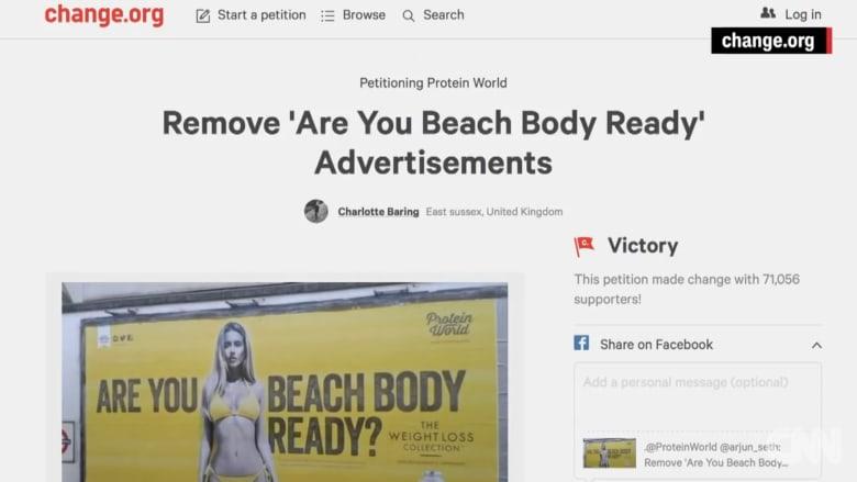 شاهد.. عمدة لندن يمنع الإعلانات التي قد تهز الثقة بالنفس