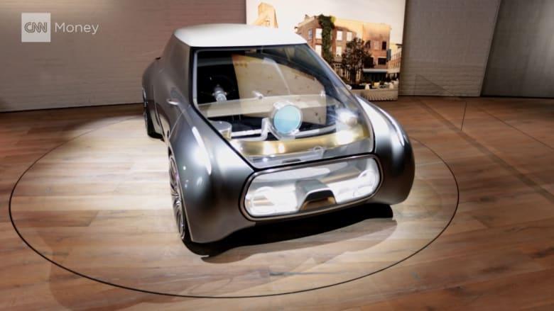 BMW تكشف عن سيارة ميني مستقبلية متطورة جداً وتحاكي الخيال