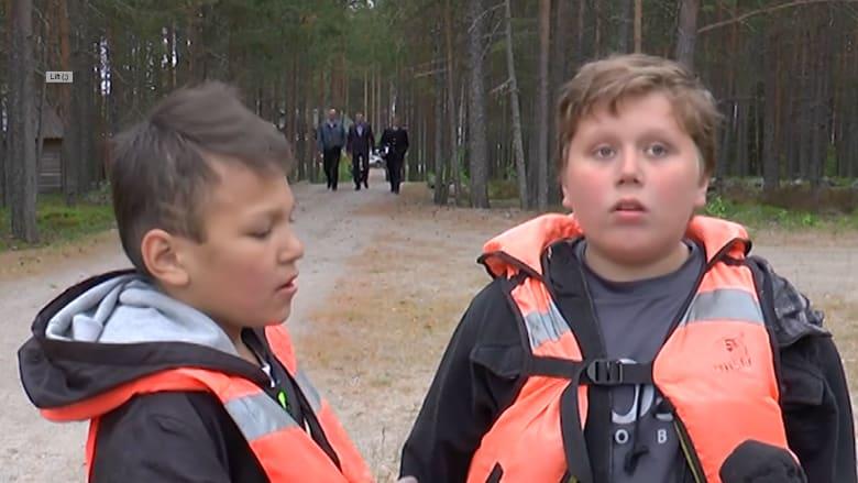 بالفيديو: غرق 13 طفلاً روسيا في عاصفة خلال رحلة بالقارب