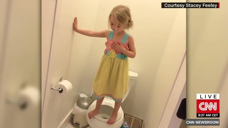 شاهد.. لماذا أثارت صورة هذه الطفلة ضجة كبيرة على الإنترنت؟