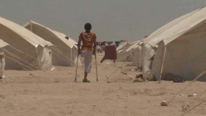 بالفيديو.. لاجئون فروا من الفلوجة: نطلب من الله والحكومة خيمة لستر عائلاتنا