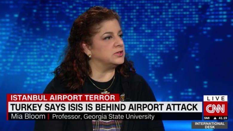 محللة لـCNN: داعش لن يتبنى هجوم مطار إسطنبول لأنه تعلم من درس أبومصعب الزرقاوي وهجمات تركيا بـ2003