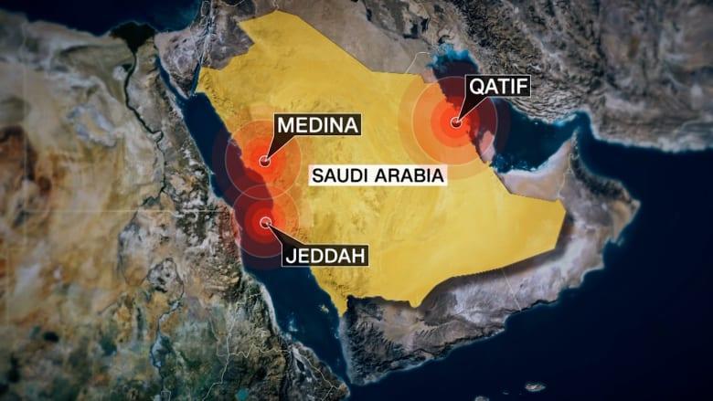 بالفيديو: شاهد تفجيرات السعودية الثلاثة مع شرح لكل حال