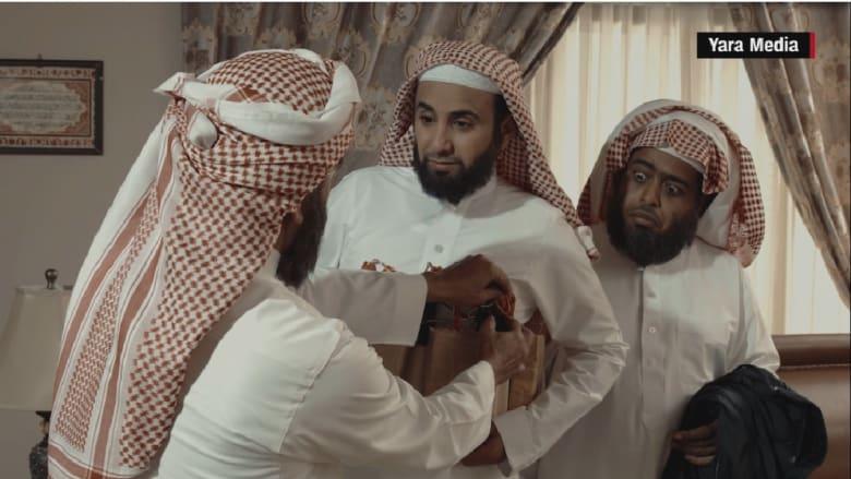 """شاهد: القصبي و""""سيلفي"""" يضربان عصب القضايا الحساسة بالعالم العربي في رمضان"""