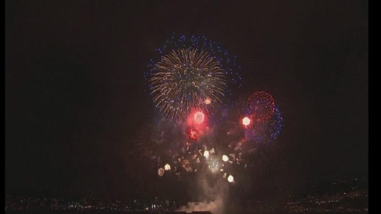 شاهد.. الألعاب النارية تزين سماء مدن أمريكا بعيد الاستقلال