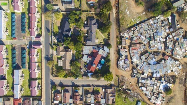 التفرقة العنصرية تتخلل في عمارة جنوب أفريقيا أيضا..