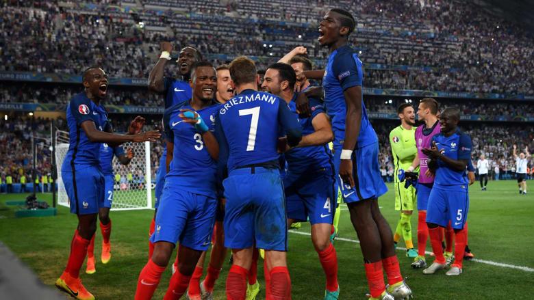 فرنسا في نهائي يورو 2016 بعد غياب 16 عاما