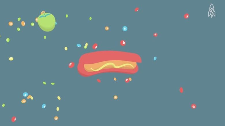 طعام رواد الفضاء.. مادة للغذاء واللعب