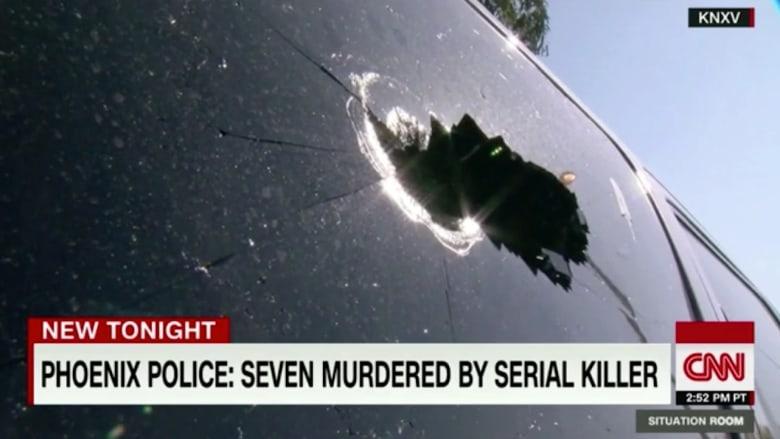 بالفيديو: قاتل متسلسل يقتل 7 أشخاص في فونيكس الأمريكية ويصيب اثنين آخرين