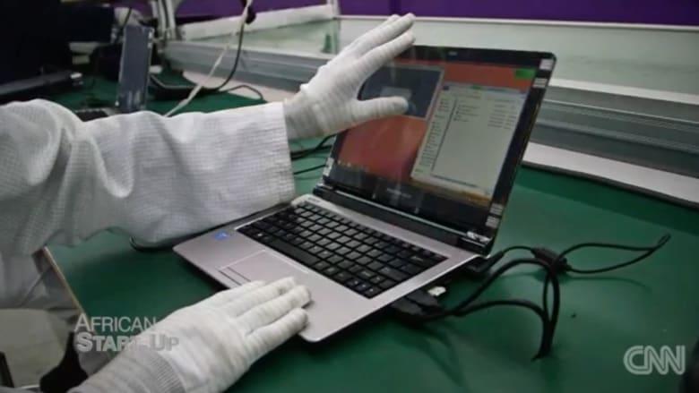 كمبيوترات محمولة بصناعة أفريقية ... وهذه هي مزاياها