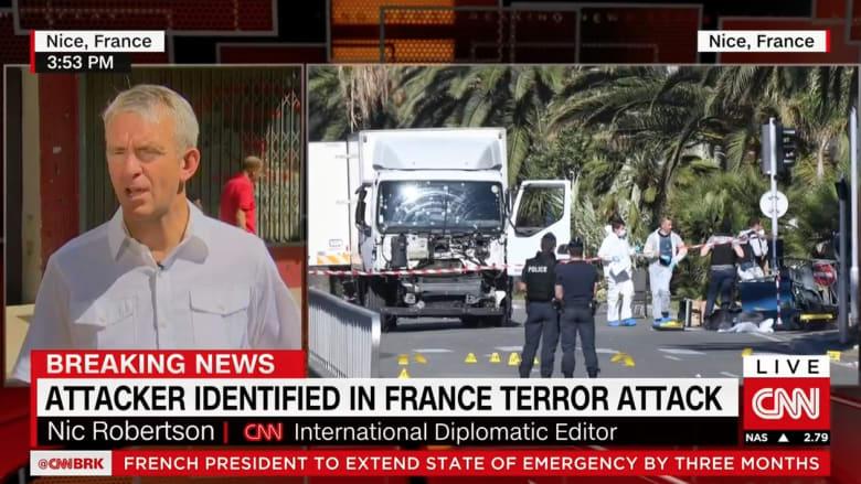 شاهد.. مراسل CNN من أمام شقة منفذ هجوم نيس يكشف تفاصيلا عن حياة بوهلال الشخصية