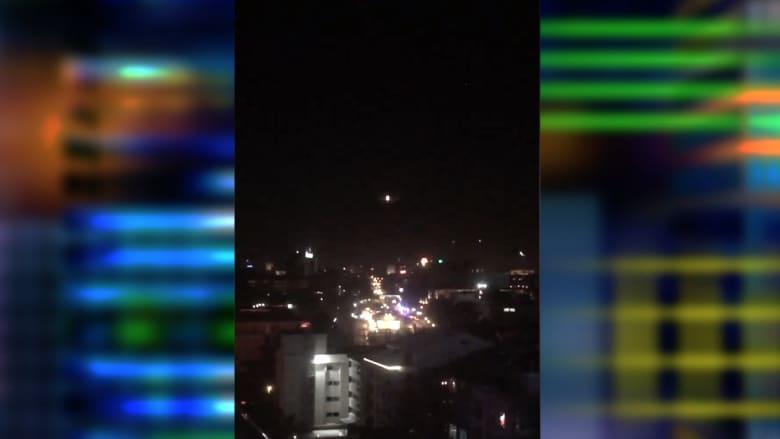 شاهد.. مقاتلات تركية تحلق على ارتفاع منخفض في سماء أنقرة