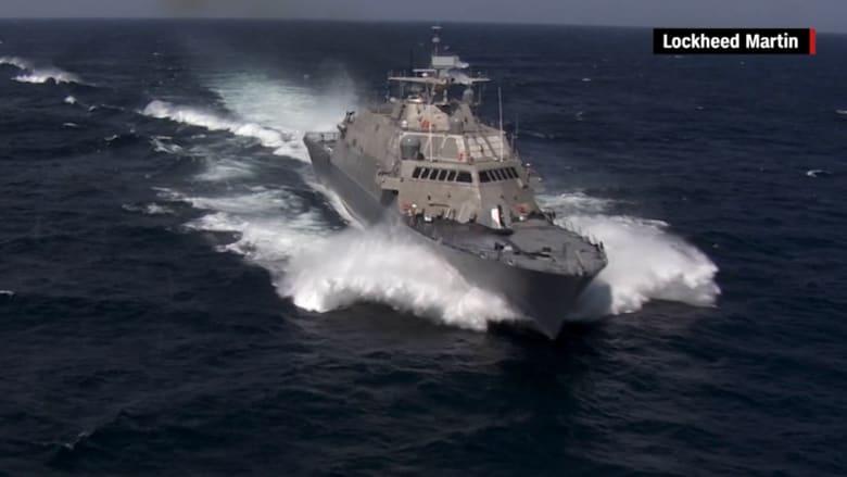 """البحرية الأمريكية تنشر فيديو لسفينتها الحربية الجديدة """"USS ديترويت"""""""