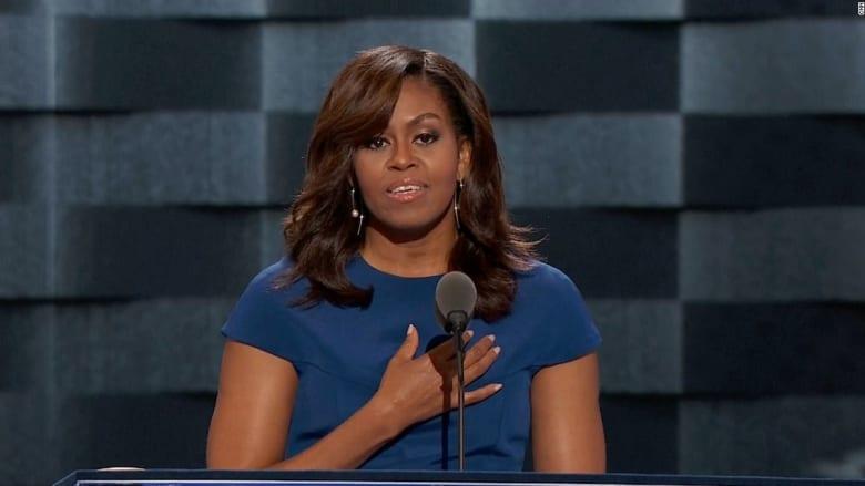 ميشيل أوباما: أمريكا الآن هي الأعظم في العالم