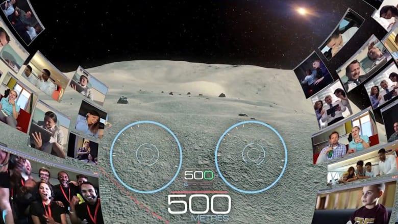 إسرائيل تنافس أمريكا على المركز الأول في مسابقة على القمر