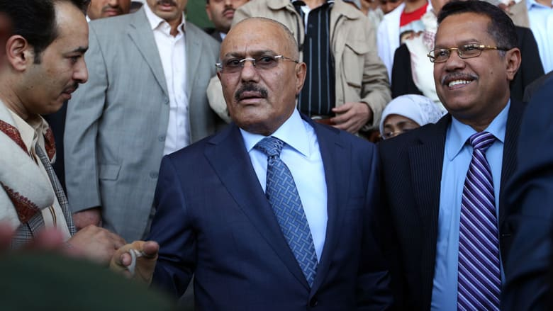 صالح: نمد أيدينا للسلام مع الشقيقة الكبرى السعودية.. وعلى إيران أن تتركنا وشأننا