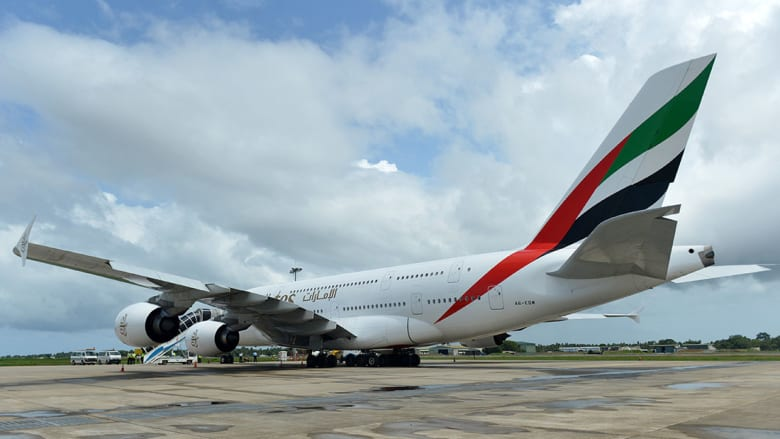 """القائمة الكاملة لجنسيات الركاب على متن طائرة رحلة طيران الإمارات """"EK521"""""""