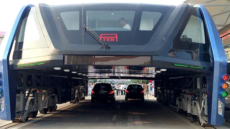 """الحافلة """"الآكلة للسيارات"""" حقيقة وشيكة في الصين"""
