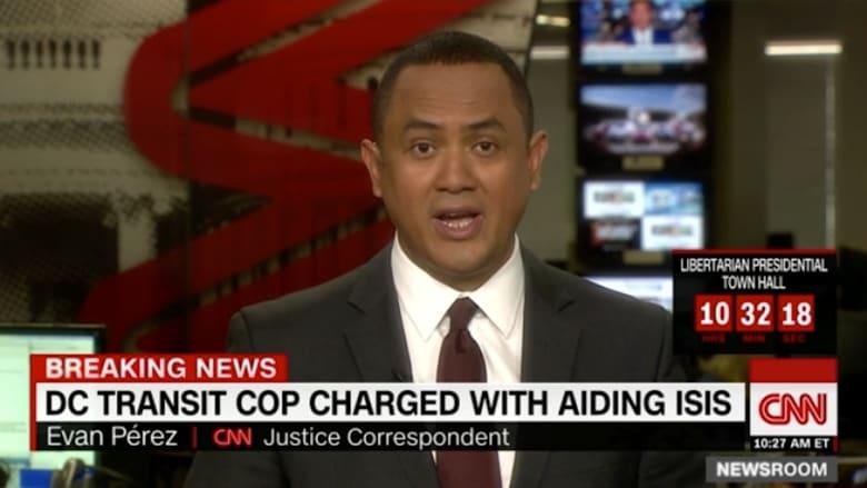 إلقاء القبض على شرطي مرور أمريكي بتهمة دعم داعش