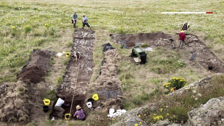 اكتشاف قصر في مسقط رأس الملك آرثر الأسطوري